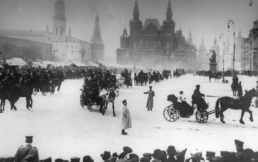 Московские извозчики. 1900