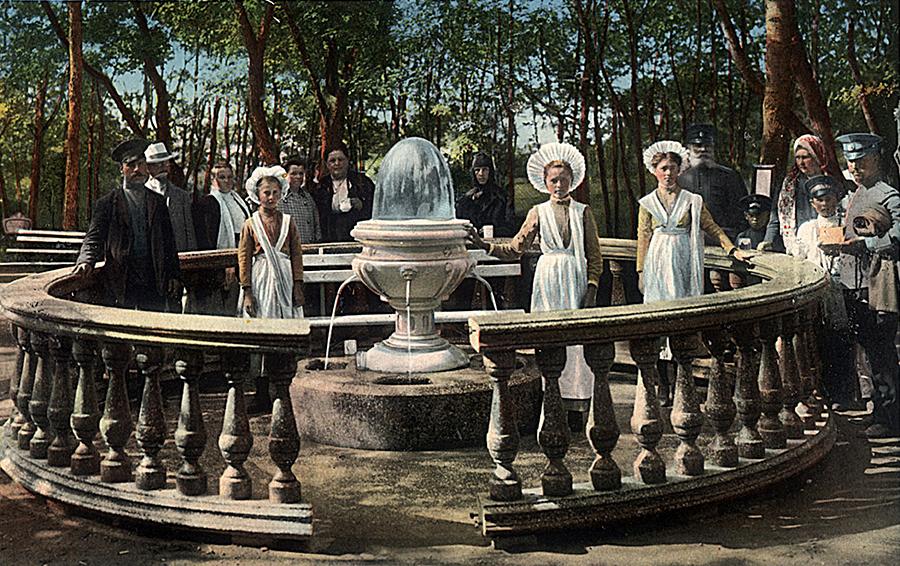 Минеральный источник #17, Ессентуки, 1900 г.