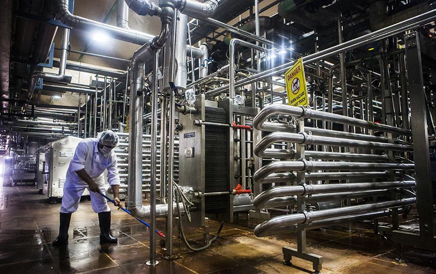 Молочное производство Cargill в Нью-Дели