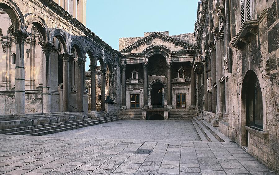 Одна из хорватских локаций «Игры Престолов»: Дворец Диоклетиана, Сплит