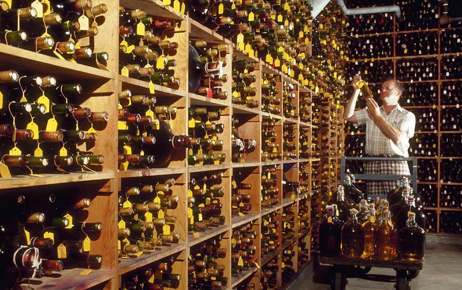 Винный склад в Калифорнии, США (1995 г.)
