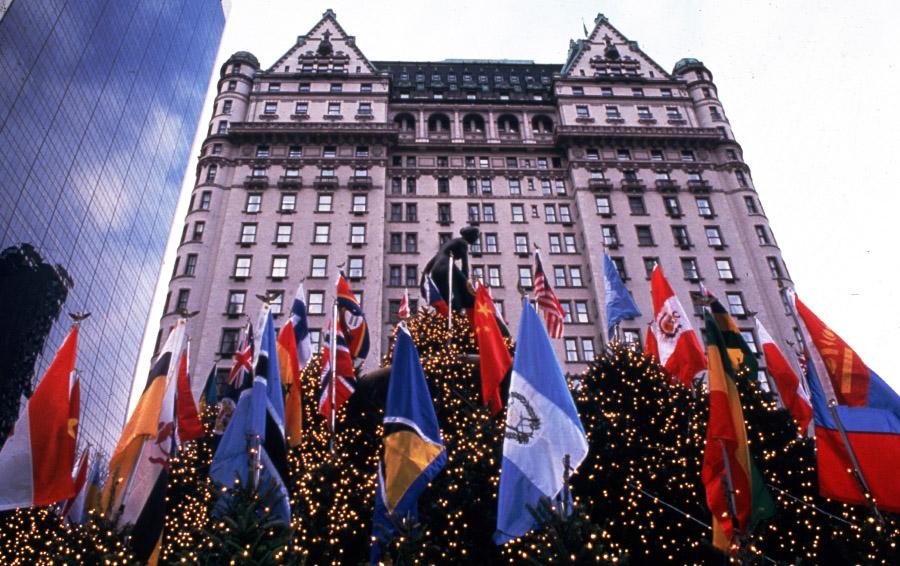 Отель Плаза в ноябре 1991 года