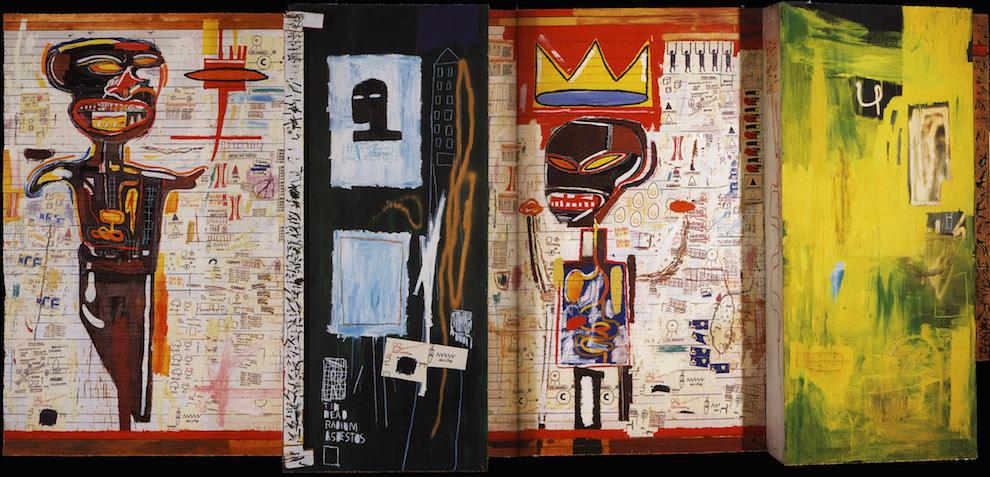 Жан-Мишель Баския. Полиптих «Грилло», 1984. Коллекция Бернара Арно