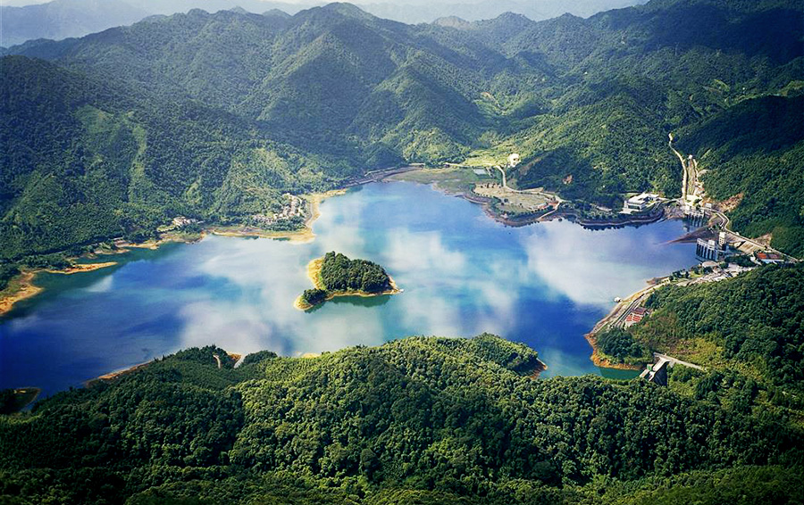 The Guangzhou pumped storage hydropower