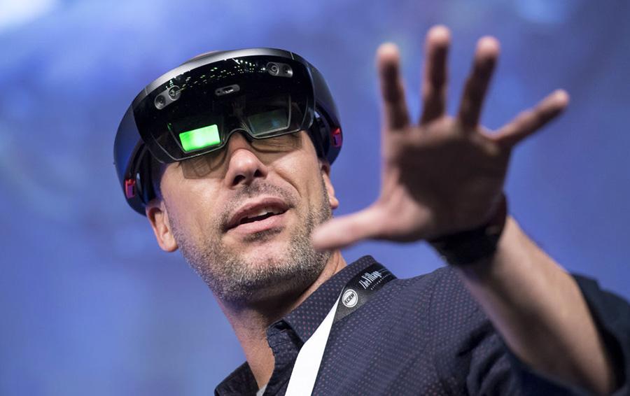Очки HoloLens компании Microsoft