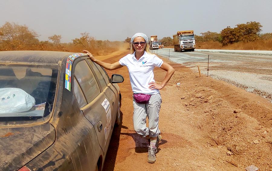 Дорога из Аккры в Буркина-Фасо