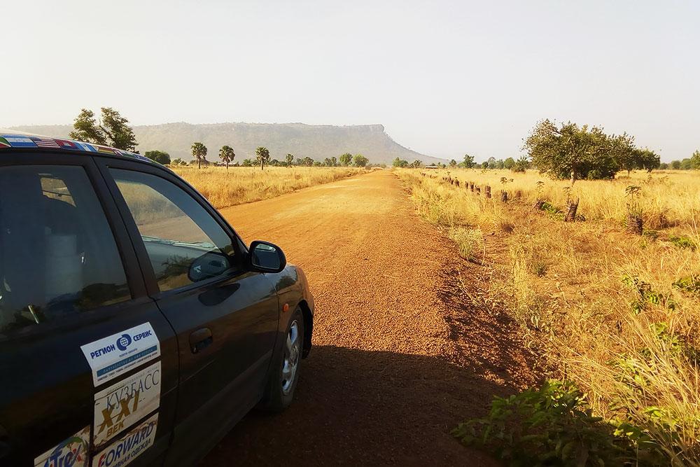 Дорога в столицу, регион Кара