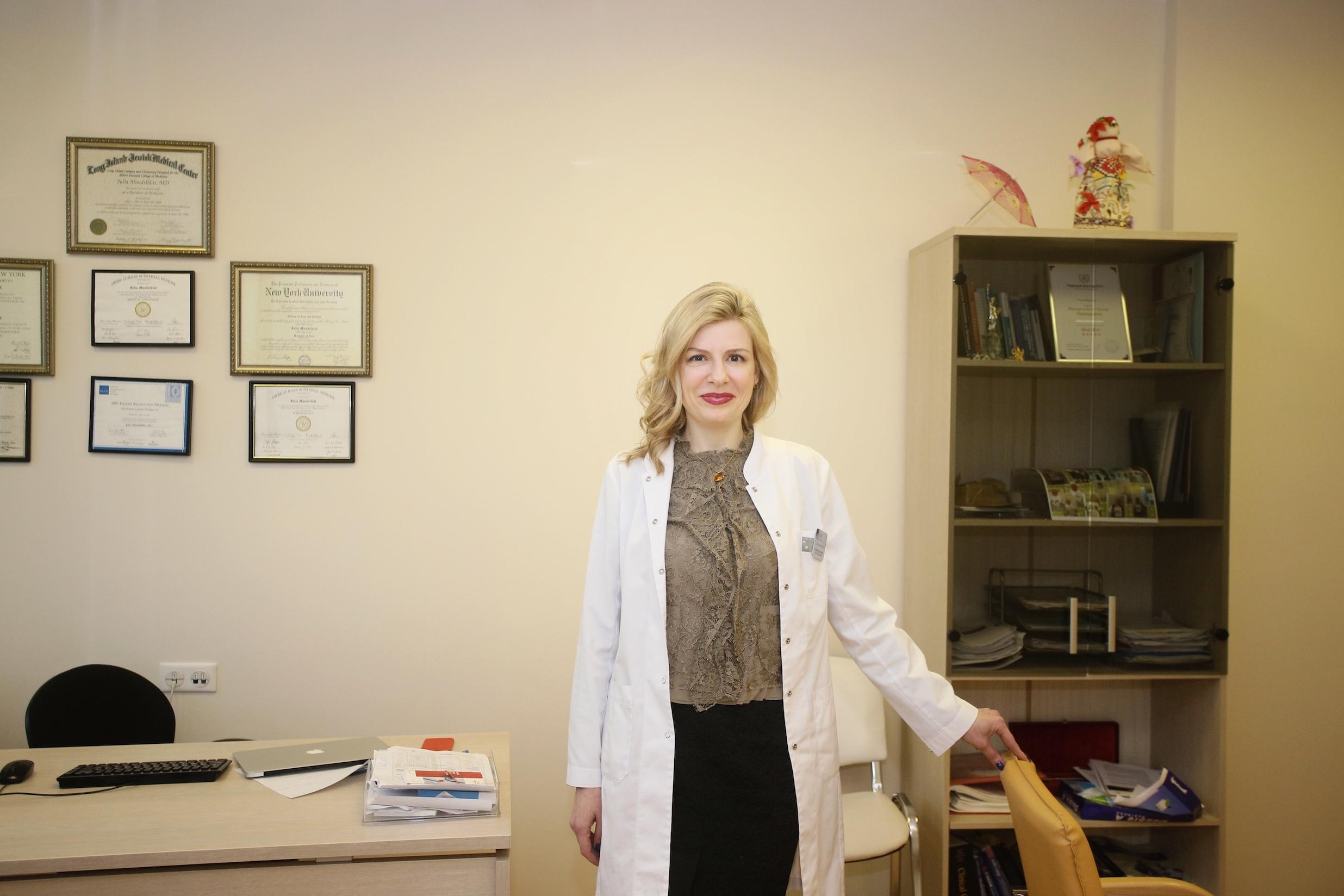 Юлия Мандельблат, Руководитель Института онкологии Европейского медицинского центра (EMC)