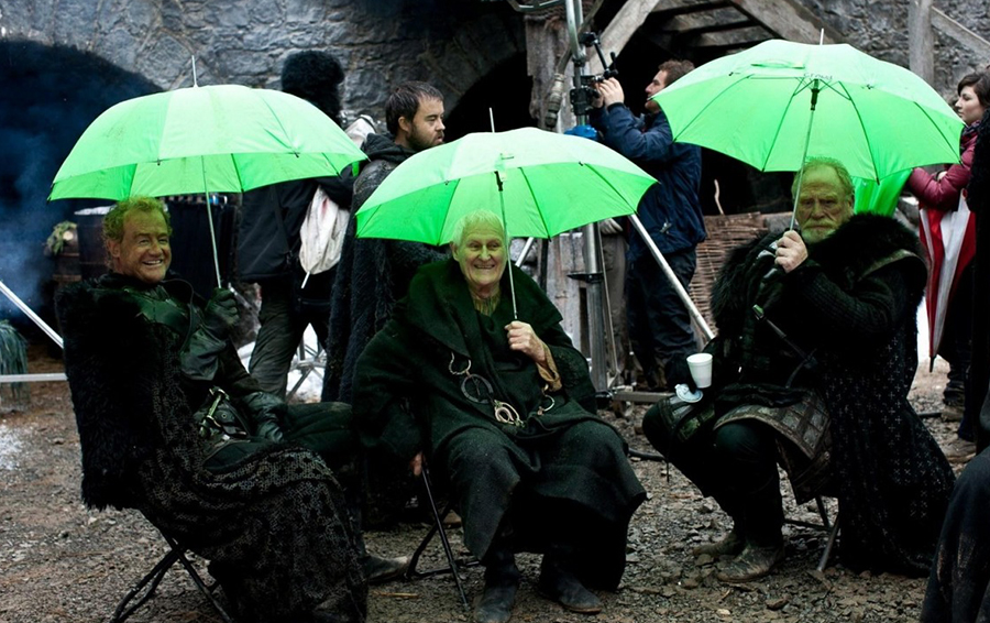 Съемки сериала «Игра престолов»