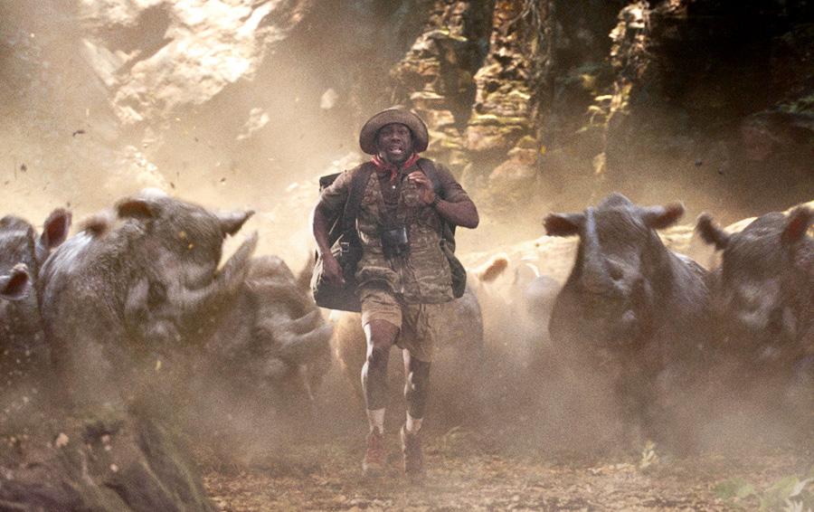 Кадр из фильма «Джуманджи: Зов джунглей»