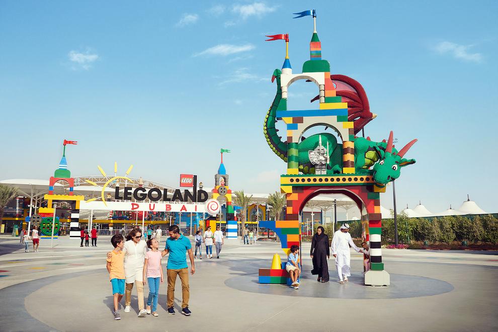 Парк Legoland Dubai