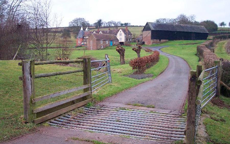 Lower Venn Farm в английском графстве Херефордшир.