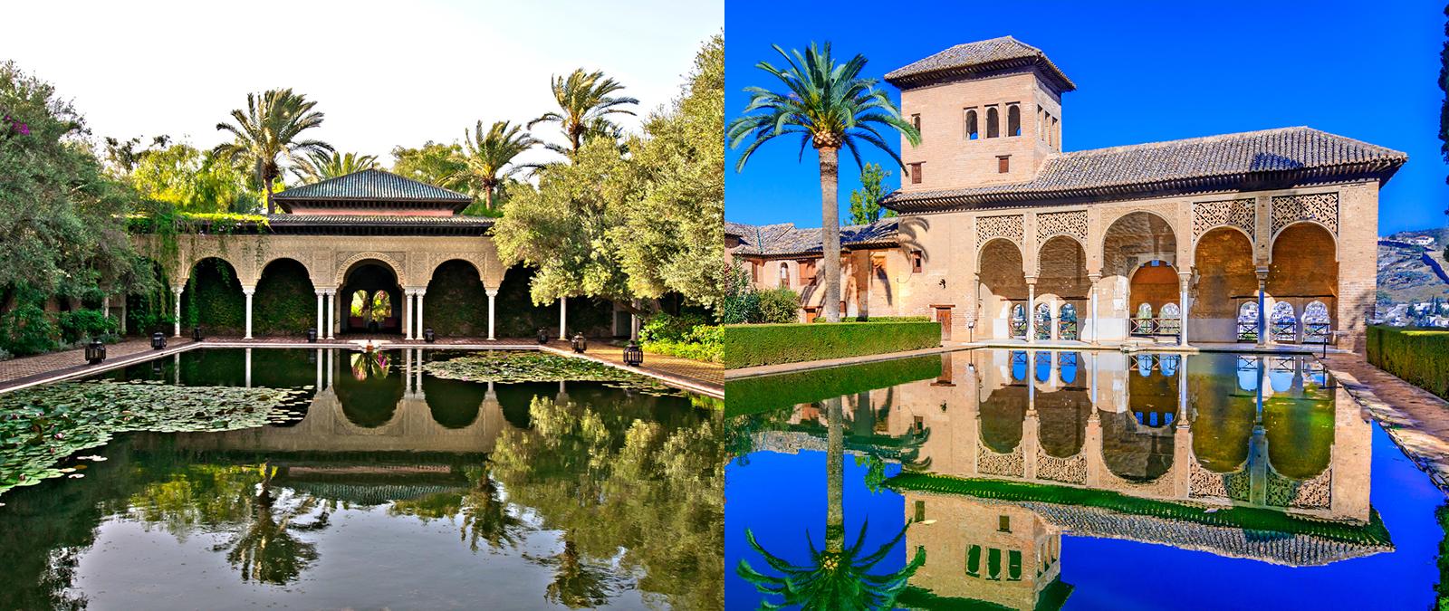 Вилла в Марракеше — копия испанского дворцового коплекса Альгамбра
