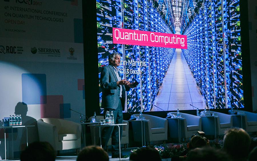 Руководитель группы по квантовым вычислениям Google Джон Мартинис рассказывает о реализации квантового компьютера компанией.