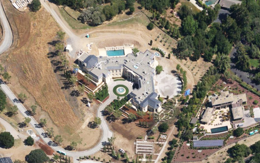 Юрий Мильнер приобрел особняк в Силиконовой долине за $100 млн.