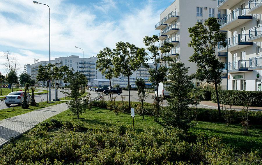 Бывшая собственность Горьковского автозавода — Grand-Hotel & Spa Rodina — теперь один из самых дорогих отелей Сочи