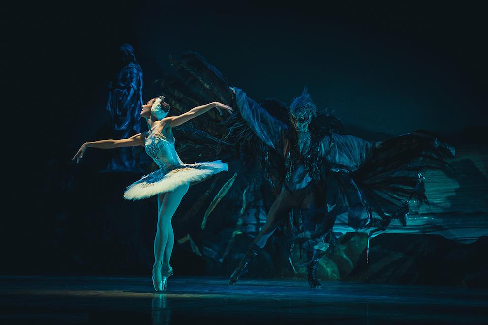 Наталья Огнева в балете «Лебединое озеро»