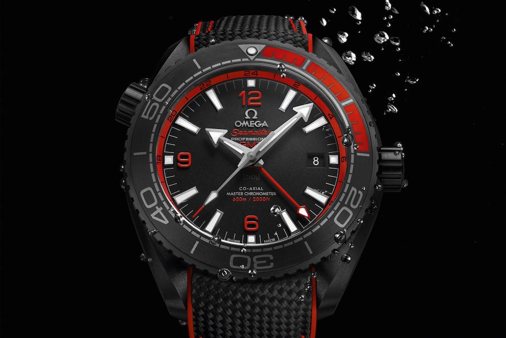 Seamaster Planet Ocean «Deep Black», Omega