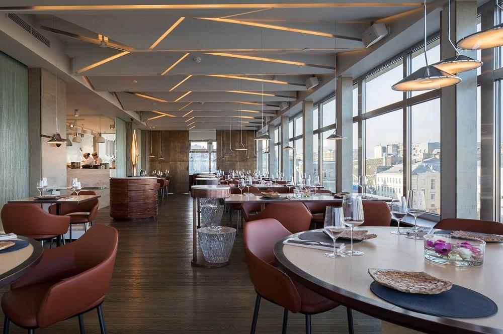Первый этаж нового ресторана