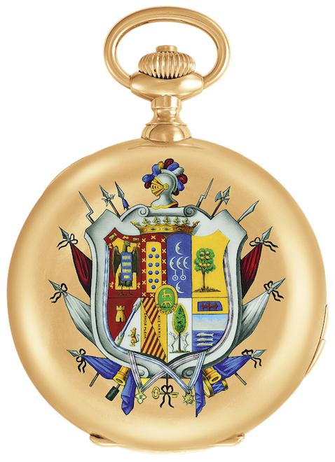 Часы папы римского Пия IX, 1867 год