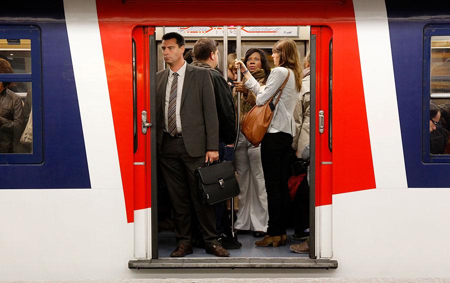 Самая новая линия RER в Париже перевозит в год более 60 млн пассажиров