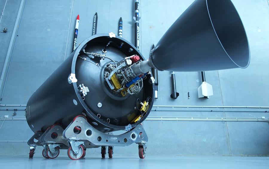 Вторая ступень ракеты Electron
