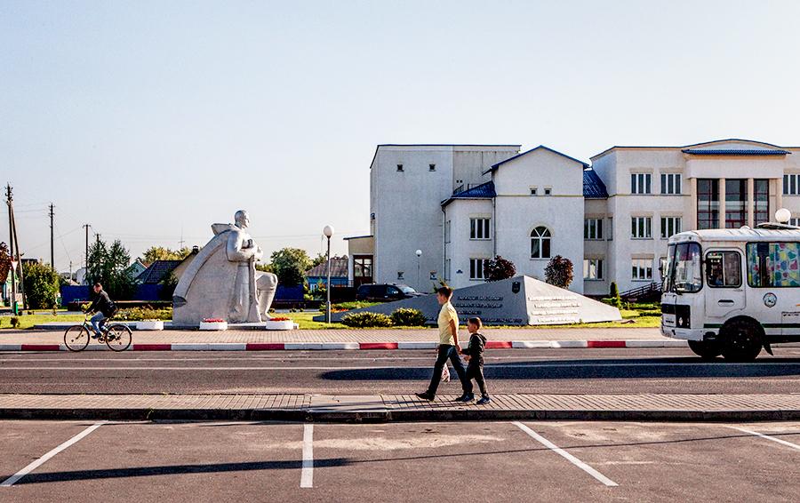 С приходом Гуцериева в городе Любань появятся новые улицы