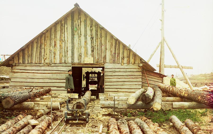 Лесопилка на Оке, 1912