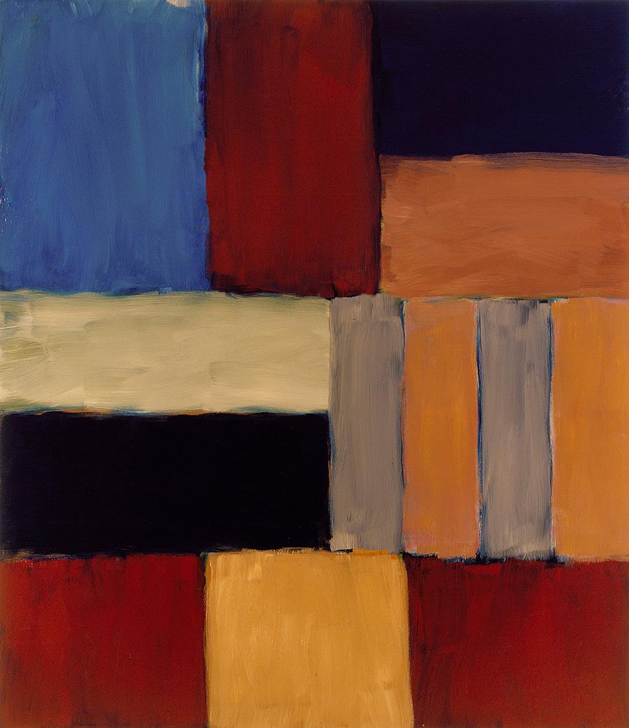 Шон Скалли.«Стена светло-голубого Черного моря», 2009.