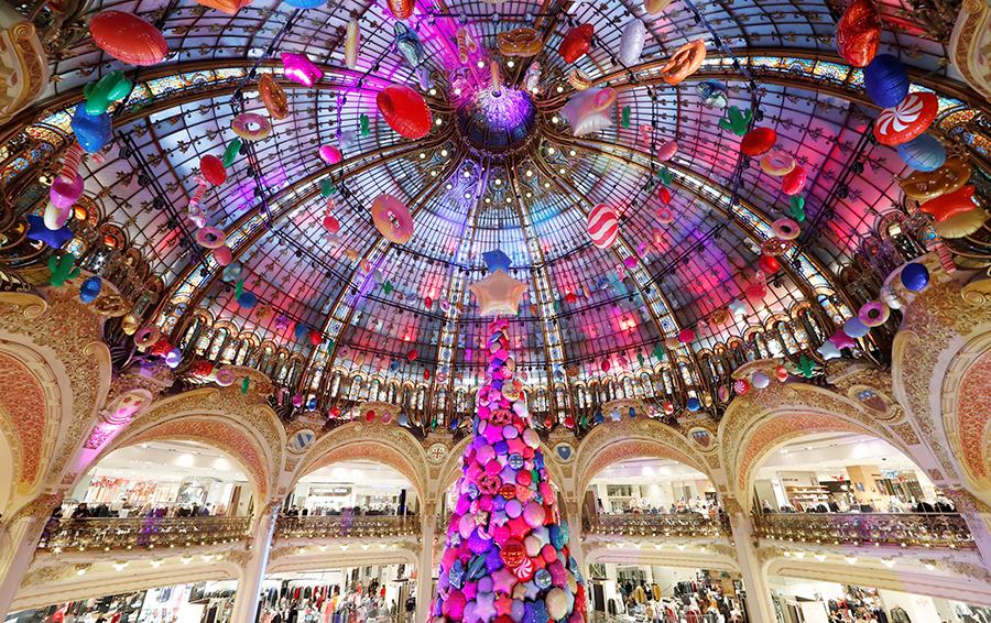 Ваше сиятельство: лучшие новогодние елки — 2017
