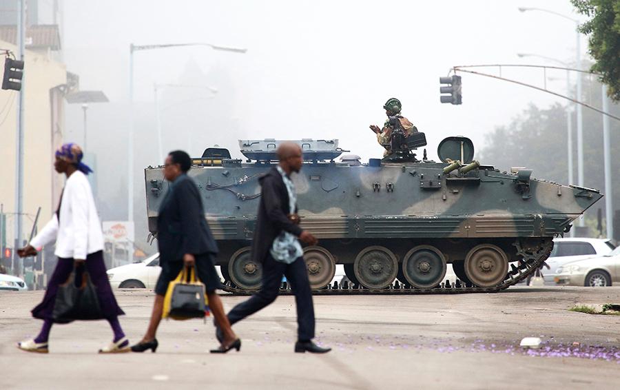 История о свержении Мугабе. Почему переворот невозможен даже в Африке