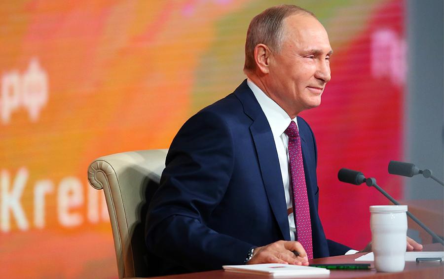 Президент шутит. Как менялся юмор Владимира Путина