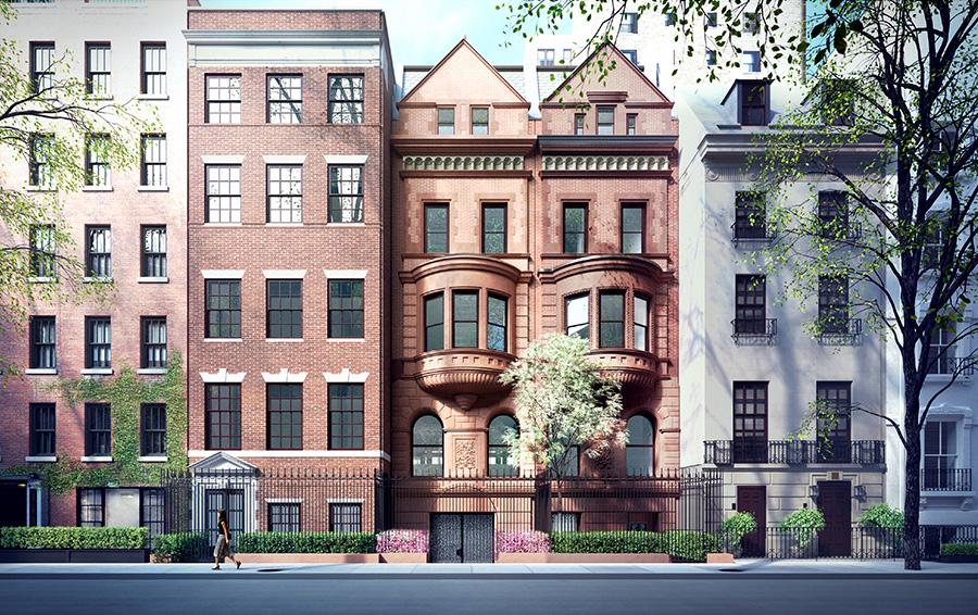 Новоселье Абрамовича. Миллиардер объединяет три исторических особняка в Нью-Йорке