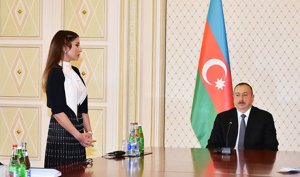Семейные ценности: жена главы Азербайджана стала первым вице-президентом республики