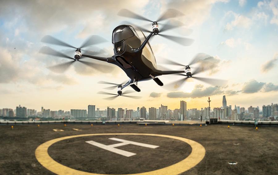 Uber стремится в небо. К 2020 году может появиться сеть воздушного такси