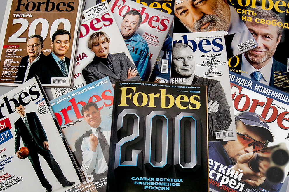 Клуб 33 миллиардеров: кто контролирует более 50% капитала участников списка Forbes