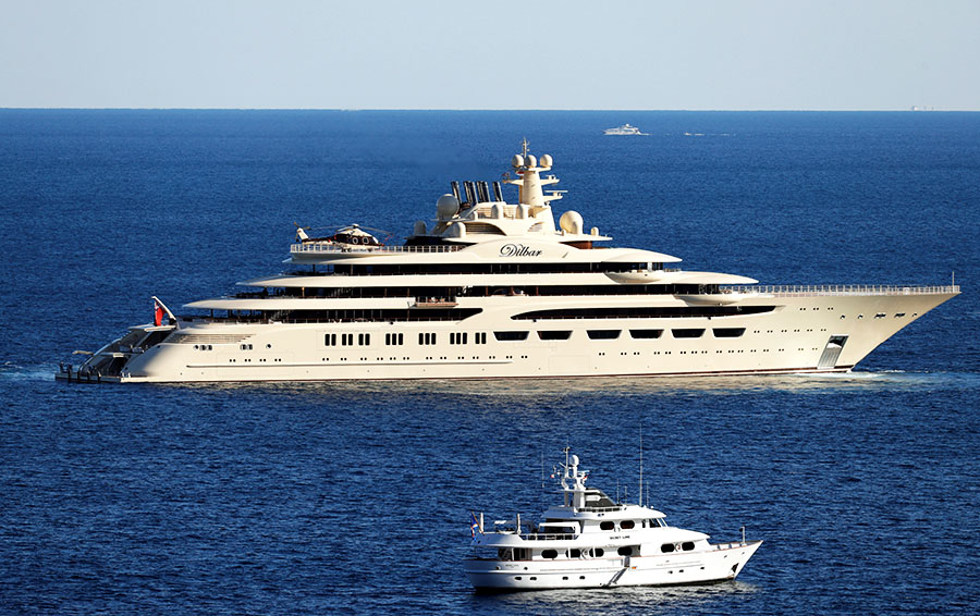 Яхты Усманова и Алекперова получили World Superyacht Awards