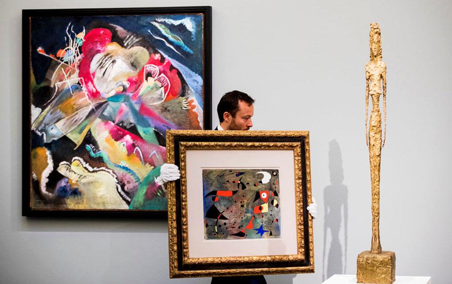 Sotheby's  установил новый мировой рекорд на Кандинского: $41,6 млн