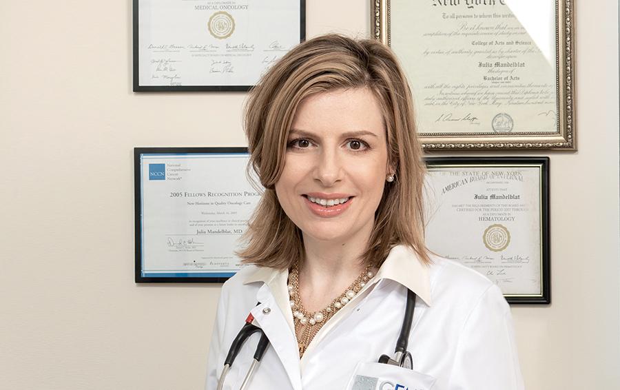 Юлия Мандельблат : «Многие  считают диагноз  «рак» синонимом  «я умер»