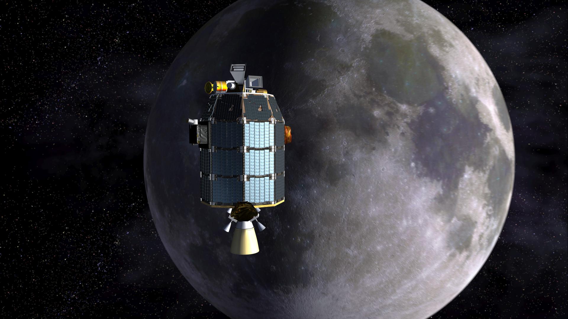 Дом на Луне: жилье в космосе будут печатать на 3D-принтере