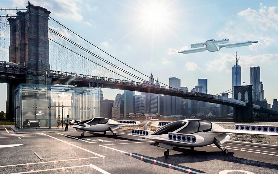 Через два года такси в Европе полетят: в стартап Lilium Jet вложены еще $90 млн
