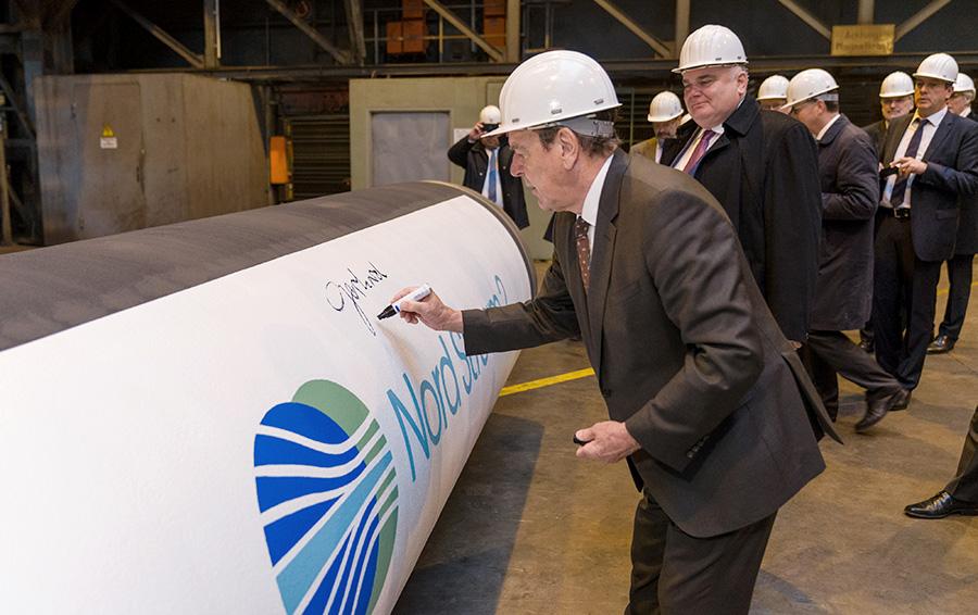 Партнеры «Газпрома» выполнили обязательства по финансированию «Северного потока-2» в 2017 году