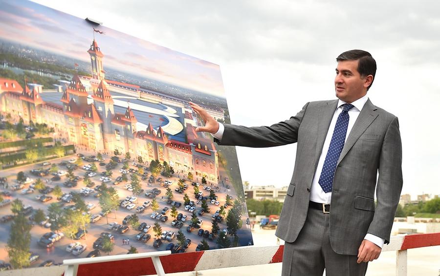 Амиран Муцоев: наша концепция затмит «Диснейленд»