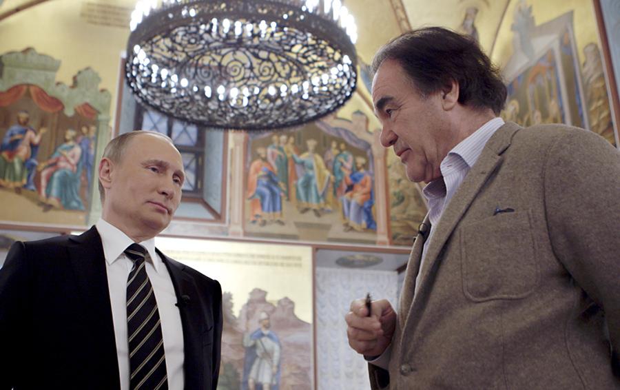 «Они не занимаются никаким крупным бизнесом»: Путин рассказал Стоуну о своих дочерях и «дискуссиях» с зятьями