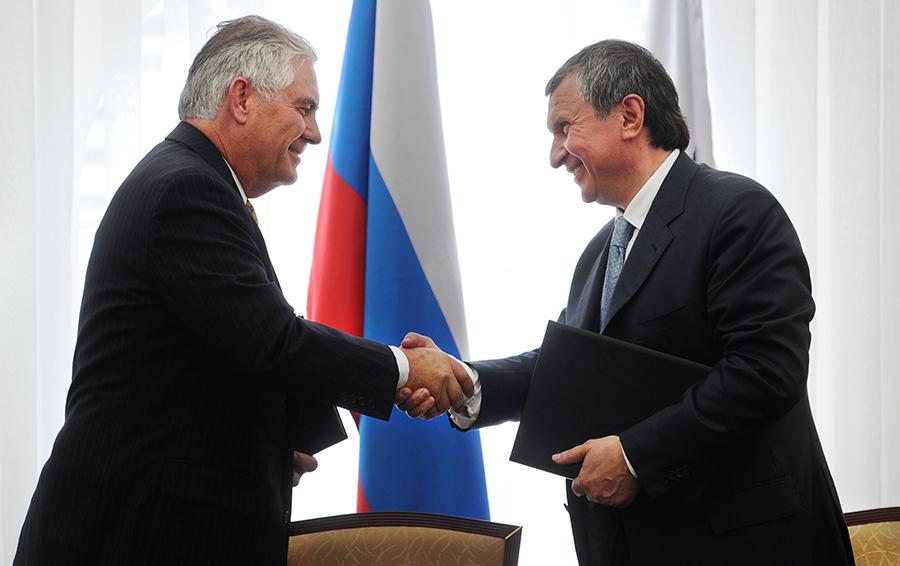 Расплата за подпись Сечина. Минфин США оштрафовал ExxonMobil на $2 млн за нарушение санкций по Украине