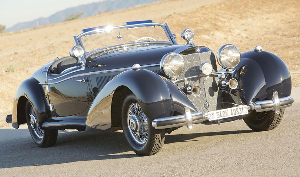 Биография на $6 млн: RM Sothbey's продал уникальный Mercedes с советским прошлым