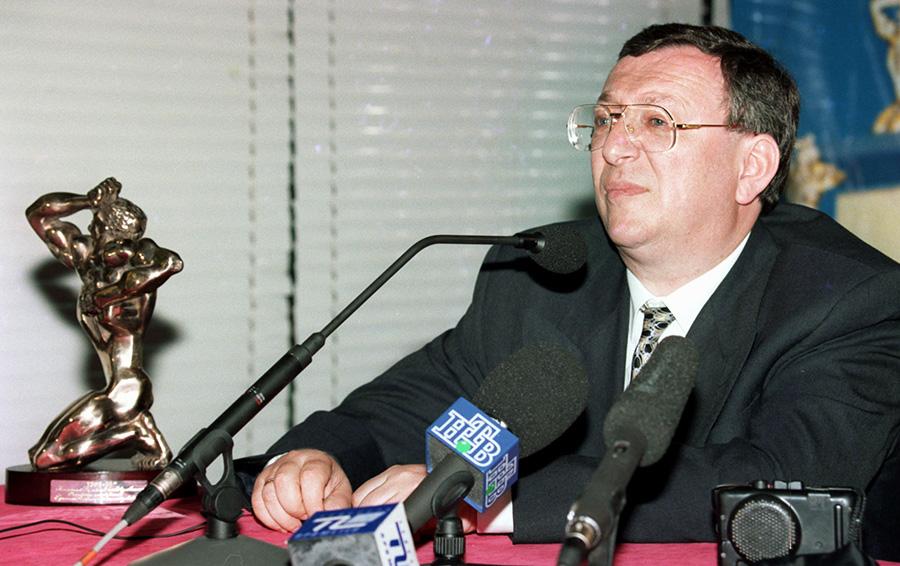 Президент холдинга «Медиа-мост» Владимир Гусинский