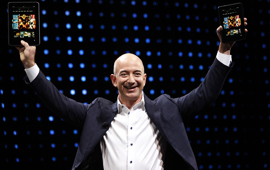Основатель компании Amazon Джефф Безос