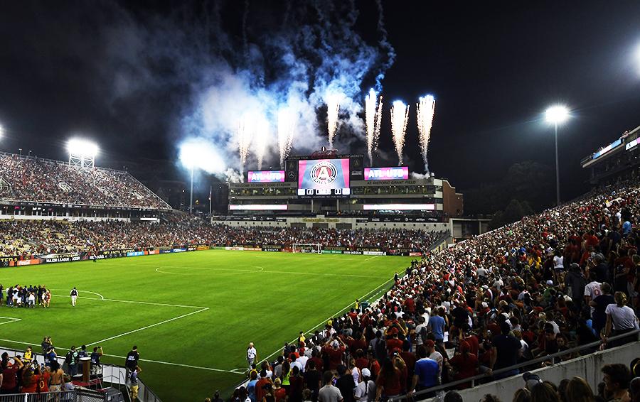 Июль 2017-го, «Атланта Юнайтед» обыгрывает «Сан-Хосе Эртквейкс» в чемпионате МЛС. Картинка не обманывает – у лиги все в порядке: зрительский интерес увеличивает доходы команд