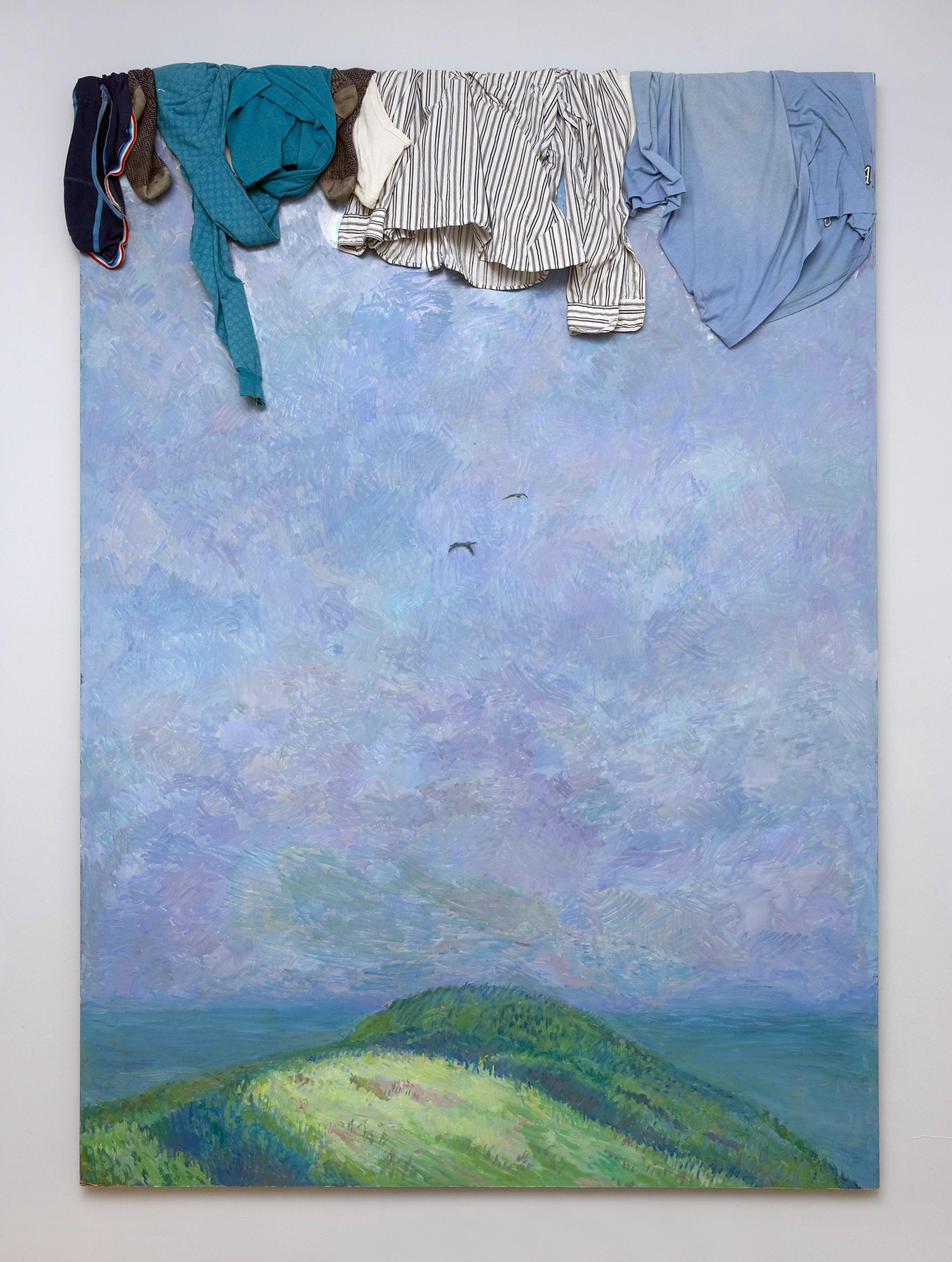 Илья Кабаков. Пейзаж с горами. 1989. В феврале 2008-го его «Жук» был продан на аукционе Phillips de Pury & Co за $5,8 млн